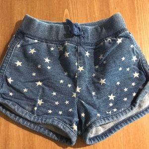 Baby girl gap cotton shorts size 12-18 months